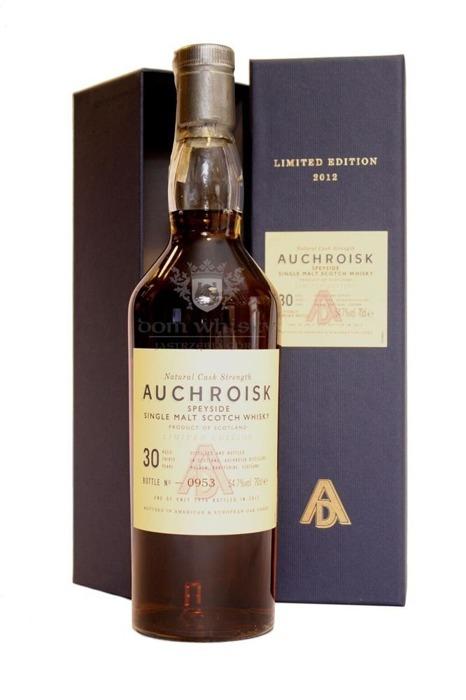 Auchroisk 1982, 30-letni (Bottled 2012) / 54,7% / 0,7l