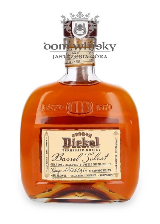 George Dickel Barrel Select 2006 / 43% / 0,75l