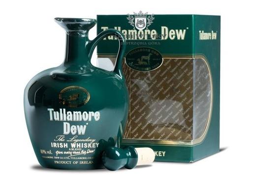 Tullamore Dew Zielona Kamionka porcelana / 40% / 0,7l